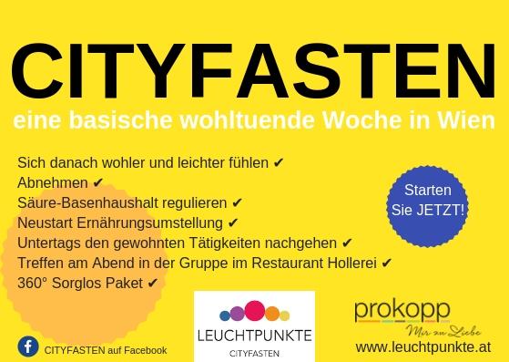 Cityfasten - eine basische wohltuende Woche in Wien